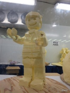 Lego was definitely a theme this year, even in butter.
