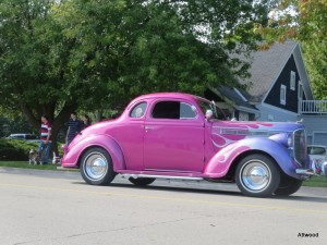 ...and the pink and purple hot rod.