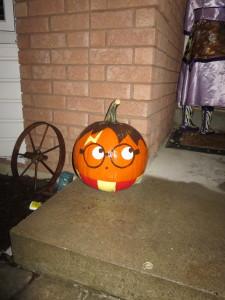 Katrine's favourite pumpkin.