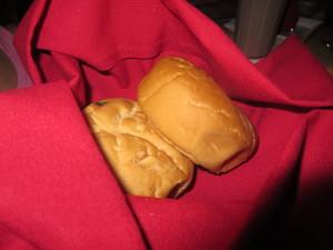 Warm rolls...yup, ate them all.