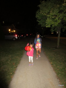 Oh, we also did our lantern parade which is a favourite of the girls.