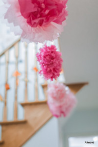I mean, how nice do these tissue paper flowers look?