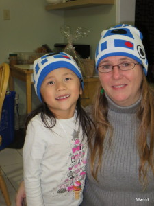 Then Glenn brought home the hats.  This rocks.