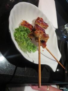 GF yakatori. Delicious.